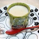 おいしい牛乳で和風テイストのパンナコッタ。