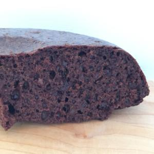 炊飯器で チョコバターなしのチョコケーキ