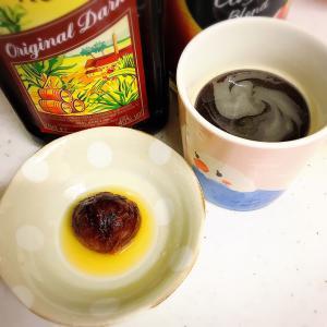 麦茶コーヒー✨✨栗の渋皮煮入り