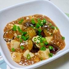 茄子入り麻婆豆腐++