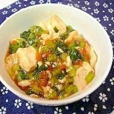 青菜(ターサイ)入り麻婆豆腐