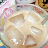 アイス☆プロテインミルクティーカフェラテ♪