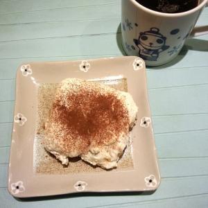 紅茶風味の豆腐ティラミス