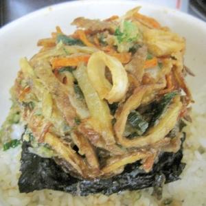 米ぬかを使ったかき揚げ丼