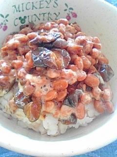 納豆の食べ方-キューちゃん♪