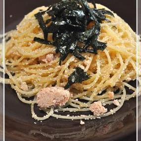 ◎とてもシンプルなタラコのスパゲティー◎