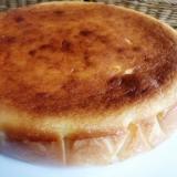 乾燥おからでベイクドチーズケーキ