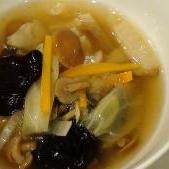 トロ〜ッ♪野菜たっぷり中華スープ