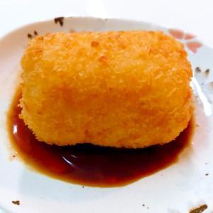 お弁当に☆うどん入り薩摩芋コロッケ