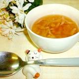 お腹に優しい☆レンズ豆の簡単スープ♪