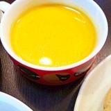 圧力鍋とミキサーで20分でできる人参スープ
