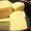レンジで簡単!高野豆腐
