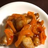 茄子の豚肉巻き〜チリソース〜