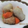 里芋と鶏肉の煮物♪