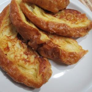塩フランスパンのフレンチトースト