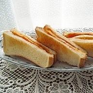 ちょっと手をかけたトーストサンドはいかが