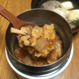 韓国風コチュジャンスープ オートミール