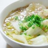 白菜と大根のそぼろ煮