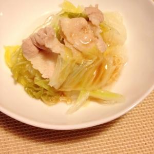 簡単&とろっとろ☆白菜と豚肉煮