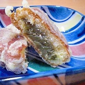 「紅葉饅頭の天ぷら」   ♪♪