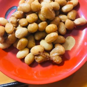 大豆の味噌煮