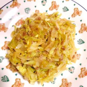作りおき野菜で ソース炒め