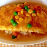 主婦の昼ご飯・簡単♪洋風トロトロあんかけご飯