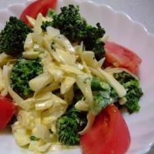 ブロッコリーと新玉ねぎのサラダ