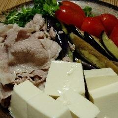 ポン酢で食べる♪お腹いっぱい☆ボリュームサラダ