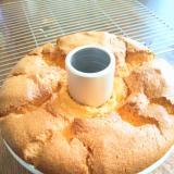 オレンジシフォンケーキ(17cm型の分量)