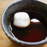 紅茶ゼリーマシュマロ乗せ