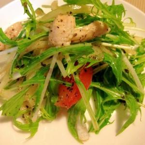 ささみと水菜の和風サラダ