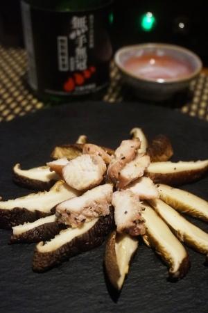 【高知食材】四万十ターキーと椎茸のタタキ
