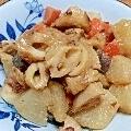 体ホッコリ、根菜のごま味噌しょうが煮