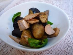 ポン酢であっさり野菜炒め