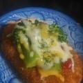 ブロッコリーととろけるチーズのおやつコロッケ
