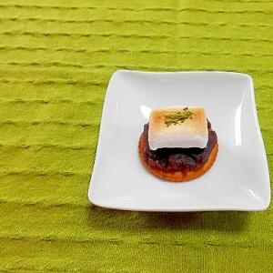 マシュマロ&あんこ抹茶☆リッツ