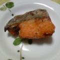 お弁当に☆鮭の竜田揚げ