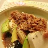 アボガドと豆腐のバルサミコ*サラダ☆