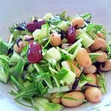 豆のさっぱりサラダ