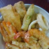 作り置き冷凍天ぷら&天丼&たれ♪
