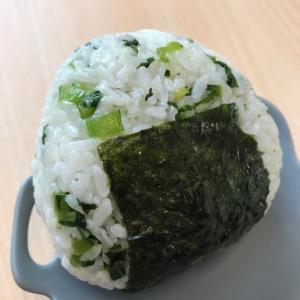 緑鮮やか♪小松菜たっぷりおにぎり