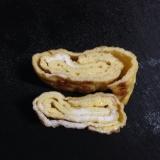シンプル♪シンプル♪七味唐辛子の卵焼き(*^^*)