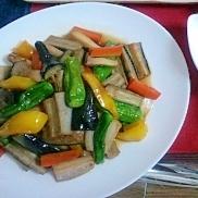 7種野菜の揚げ浸し