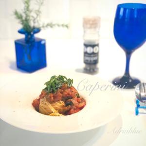夏野菜のカッペリーニ
