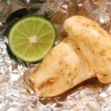 【魚焼きグリルで簡単】松茸のホイル焼きの焼き方