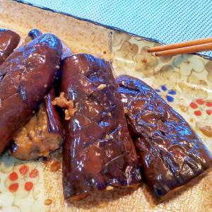 ♪マーガリンと醤油麹で♡ジューシー焼き茄子♪