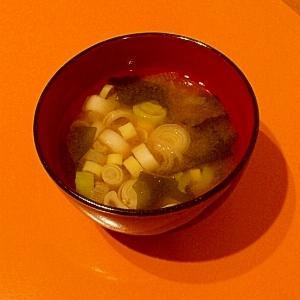 一味違う 中華風味噌汁