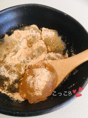片栗粉でわらび餅♪