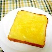 簡単・パン屋さんの味トースト♪